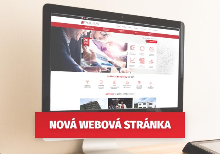 Spustenie novej oficiálnej webovej stránky